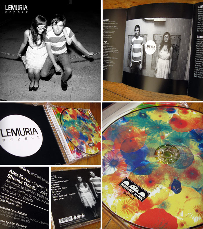Lemuria Pebble CD package